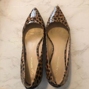 Via Spiga kitten heels size 7